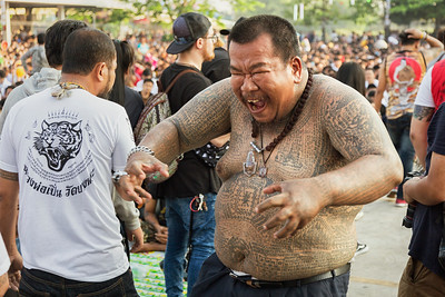 the sak yant tattoo festival