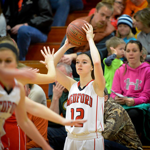 Medford Girls V vs Wausau East Jan 9 2015
