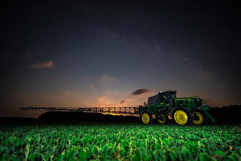 Soybean Spraying 2019