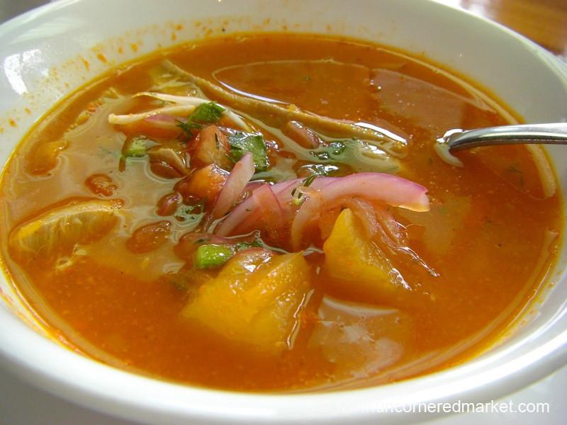 Seafood Soup - Galapagos Islands
