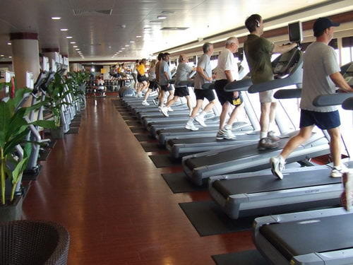 Norwegian Pearl Gym and Fitness Center