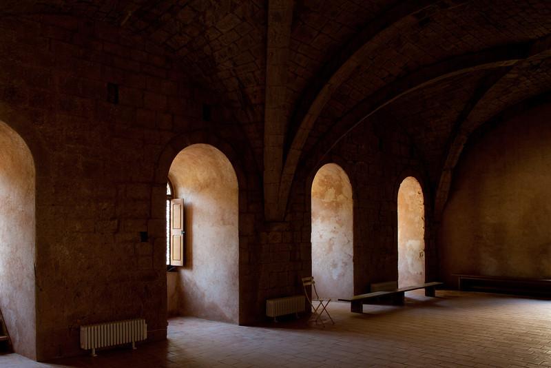 Le Thoronet Abbey Dormitory Window Bays