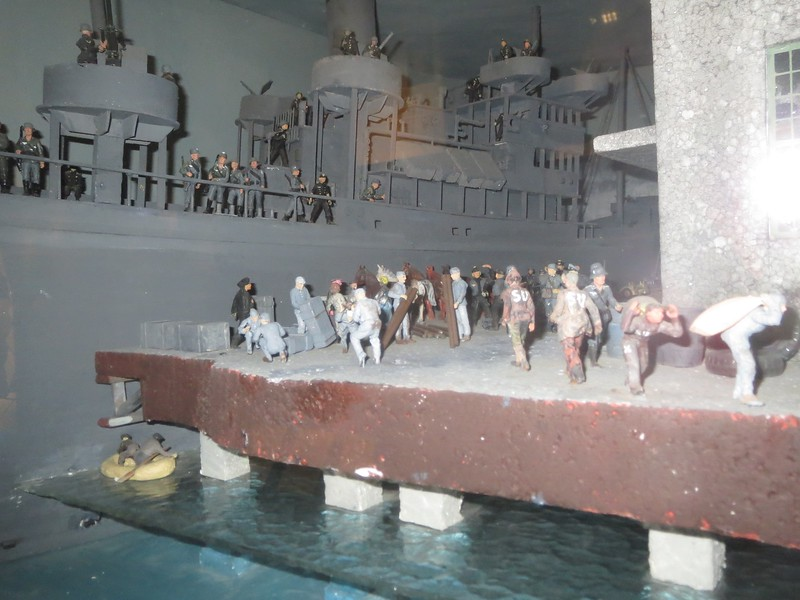 The mining of the SS Donau. 16 Januar 1945. Norwegian Resistance Museum