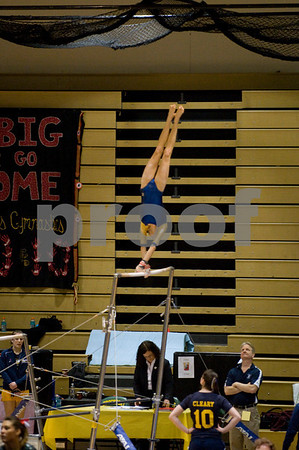 Ithaca College Gymnastics at ECAC Meet 3 13 10