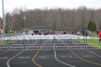 Brethren Invite 100m Hurdle Prelims Girls