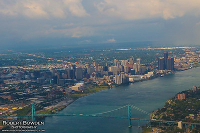 Detroit Skyline 2017