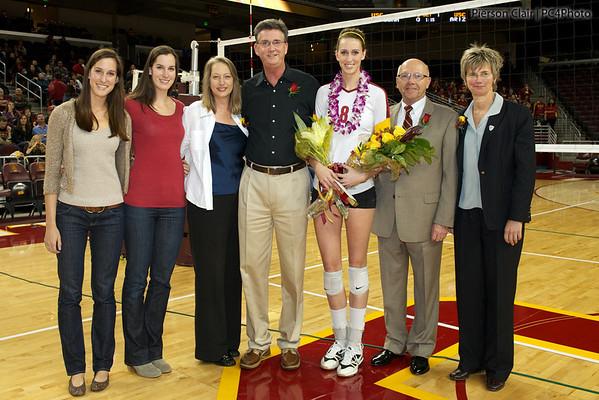USC Women's Volleyball v Arizona 2011 (Senior Day)