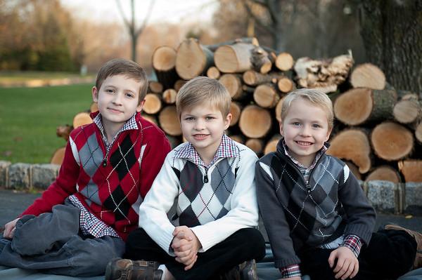 Atkinson boys Christmas