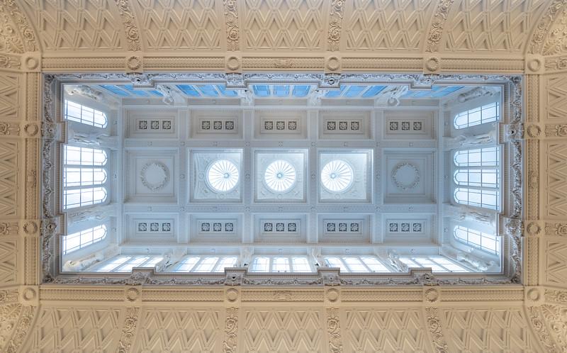 Roof of the Fitzwilliam Museum, Cambridge