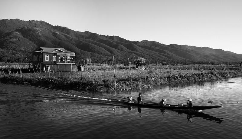 Inle Lake, Myanmar, 2017