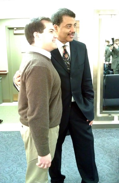 @CraigFifer with Neil deGrasse Tyson (@neiltyson)