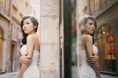 法國里昂海外婚紗 | Antonin + Phoebe