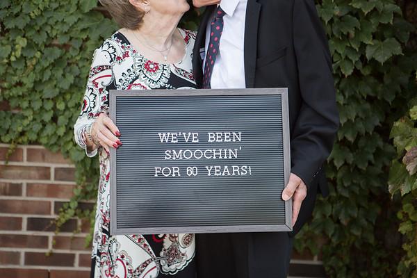 John and Cindy 60 years