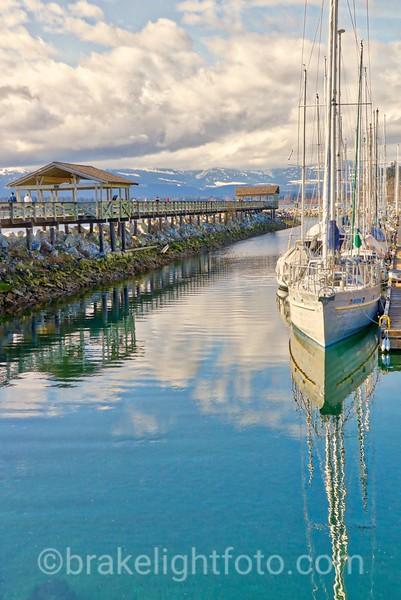 Fisherman's Wharf Boardwalk at Comox Municipal Marina