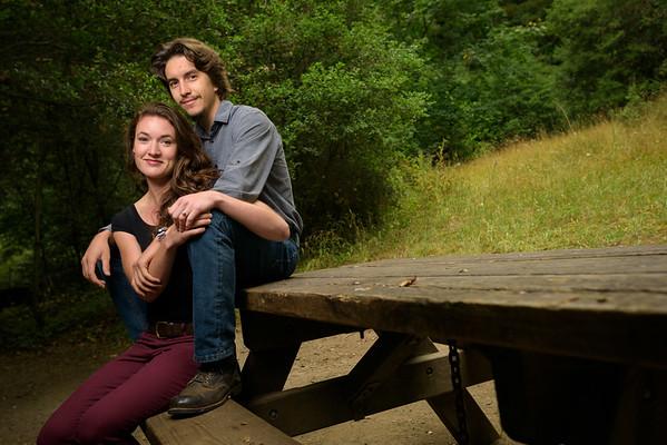 Melissa and Ryan (Engagement Photography) @ Nisene Marks, Aptos, California