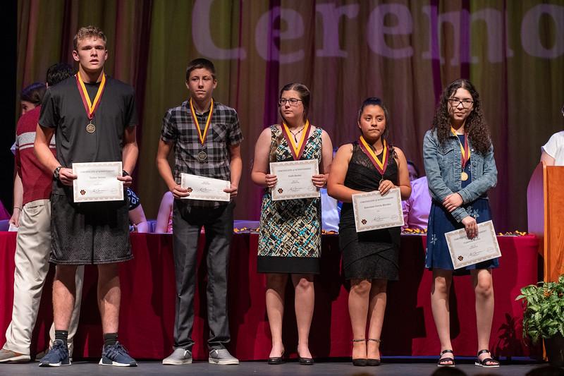 DSHS Academic Awards, 2018