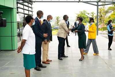 Visite hôpital  Roi Fayçal- Kigali