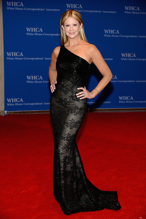 . Television personality Nancy O\'Dell attends the 100th Annual White House Correspondents\' Association Dinner at the Washington Hilton on May 3, 2014 in Washington, DC.  (Photo by Dimitrios Kambouris/Getty Images)
