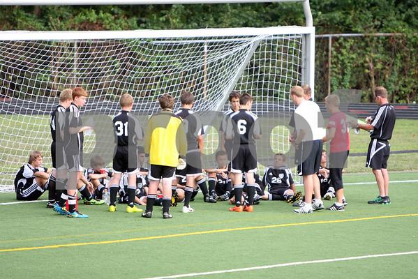 JV boys soccer at Mariemont 8/24/10