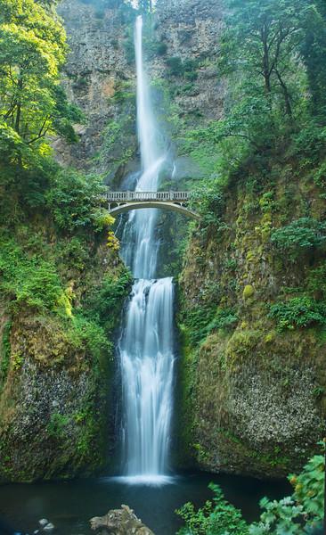 Multinomah Falls in the Columbia Gorge State Park, Oregon