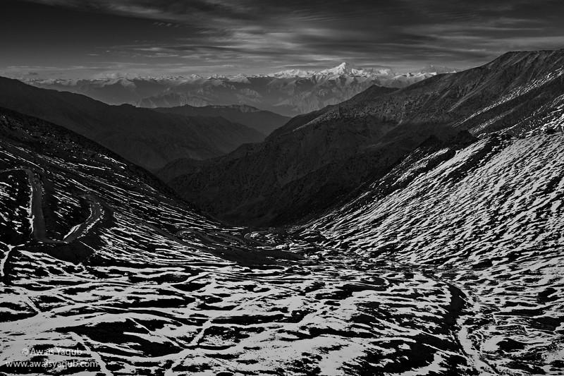 Nanga Perbat, the Killer Mounatin seen from 14000 Feet
