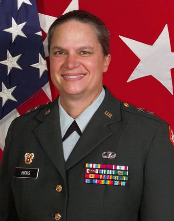 Major General Janet Hicks, CO Ft. Gordon 4/12/05