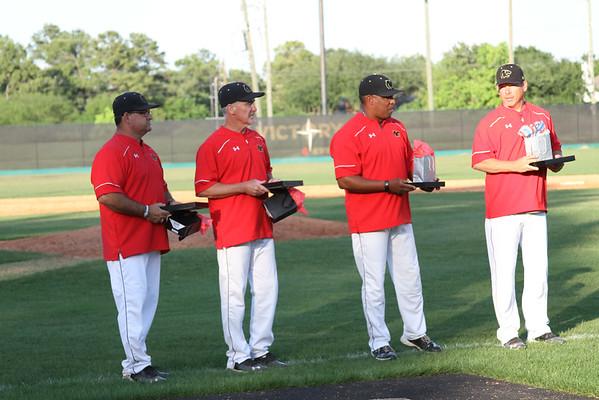 2015 Varsity Baseball Sr Recognition 4/21