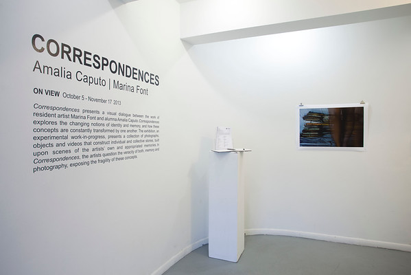 Correspondences, Amalia Caputo+MarinaFont, South Florida Art Center, Miami Beach - 2013