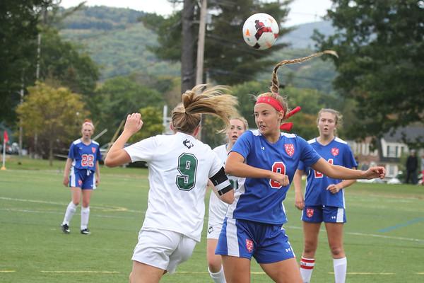 Girls' Varsity Soccer vs New Hampton | September 30