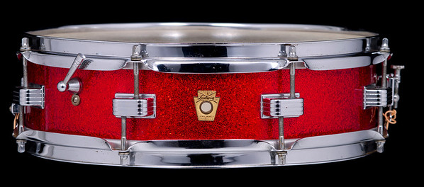 Ludwig Red Sparkle Downbeat