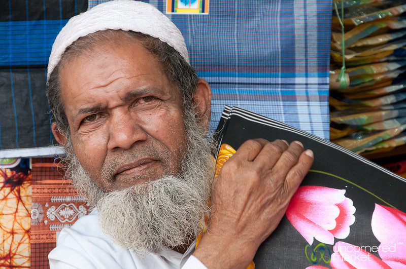 Friendly Older Man in Old Dhaka, Bangladesh