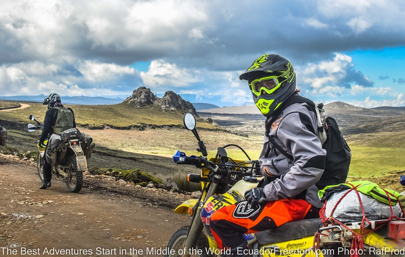 Ecuaduro Enduro Adventure Tour