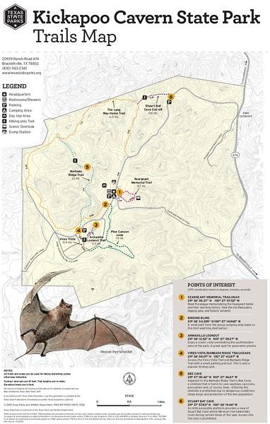 Kickapoo Cavern State Park (Trails)