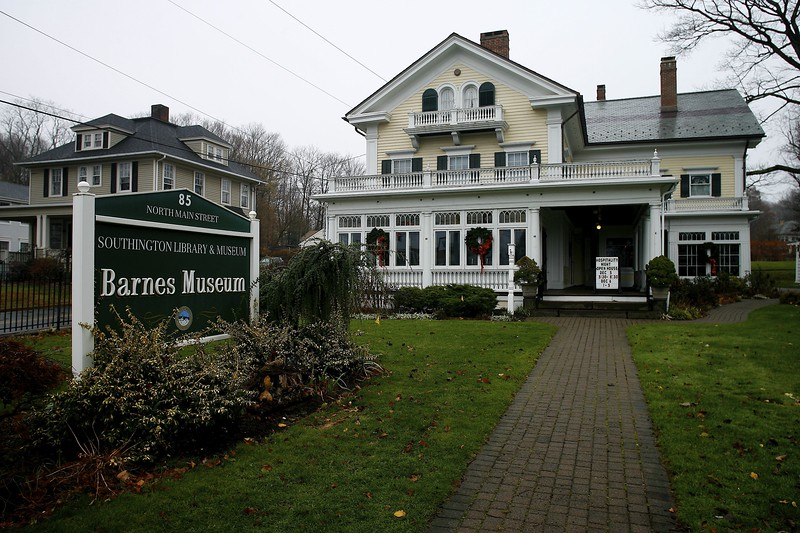 Kevin Bartram | Staff The Barnes Museum at 85 North Main Street in Southington will host a 40th anniversary open house this weekend.