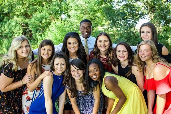 Benton High School Homecoming Portraits 2017