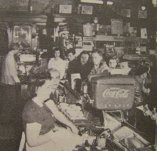 Spencer Center, Murray Drug Co. Soda Fountain Late 1940�s