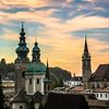 Sunset Spires, Salzburg, Austria