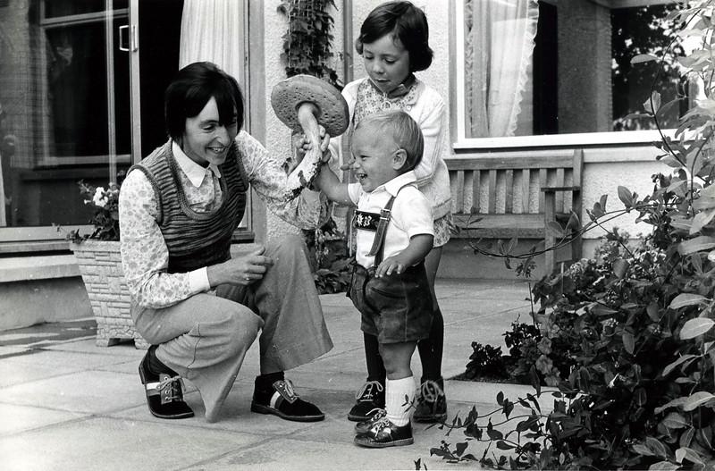 1974 bei Aunt Margaret