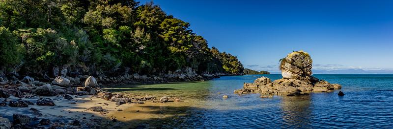 «Abel Tasman Nationalpark»: An der «Coquille Bay»