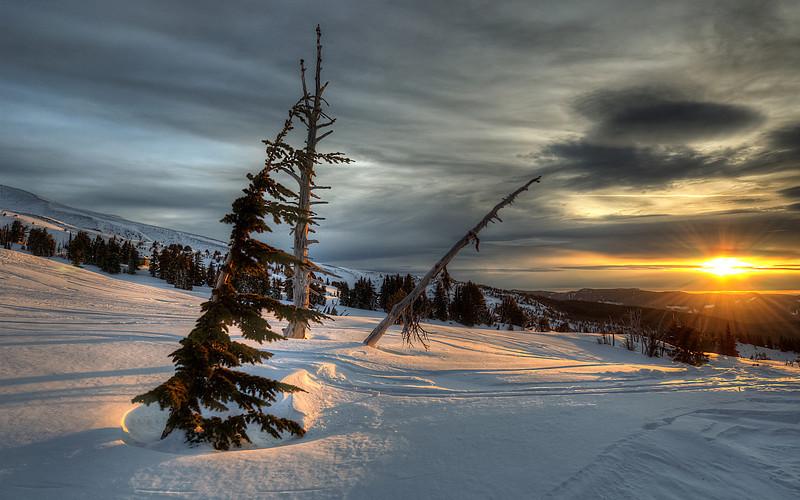 Sunrise at Mt Hood