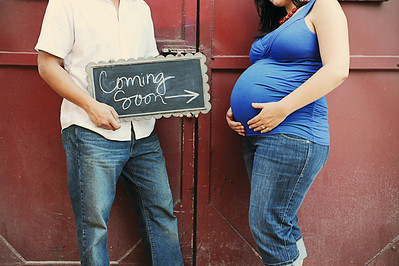 Nicole and Treb Maternity