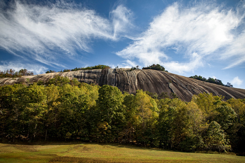 Early Autumn at Stone Mountain