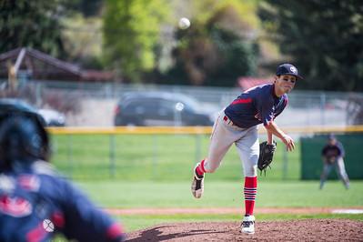 Woods Cross at Bountiful Baseball 4-21-17