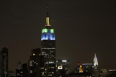 NYC 77-7th Rooftop Views Night 06-12-2009