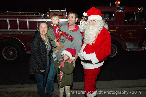 Santa Visits Cherry Tree Farm 2019