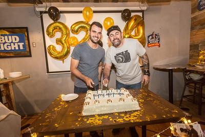 2018-02-18 DC - EVE Birthday Alex @ Tenley Bar