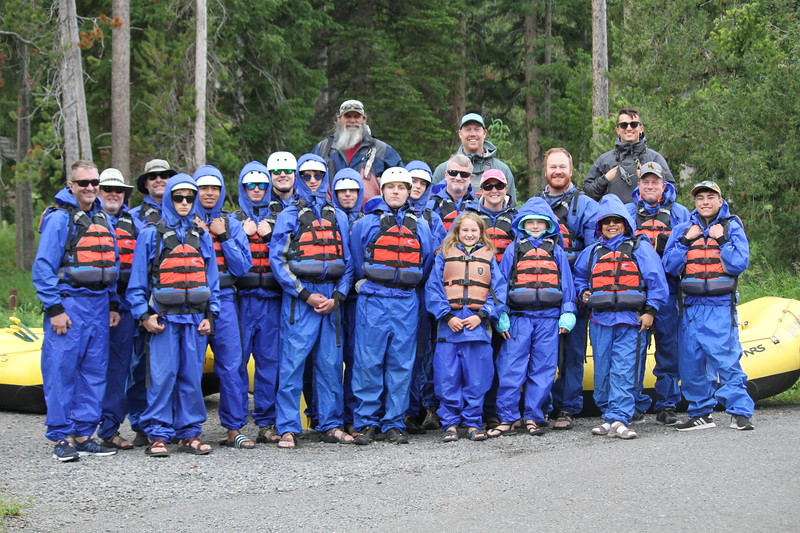 Wyoming Rafting Trip - Boy Scouts