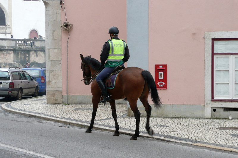Horse Mounted Police. Sintra