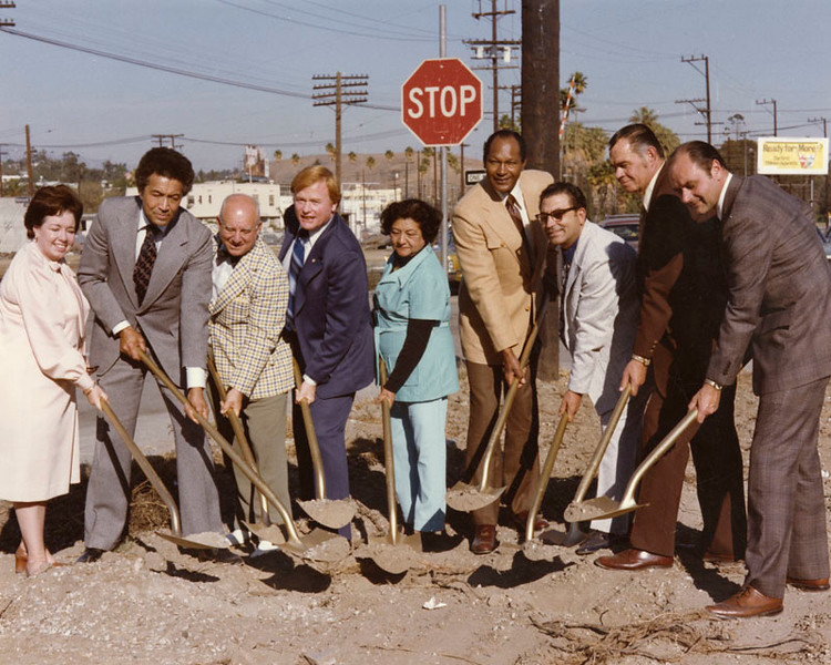 1975, Mission Road Groundbreaking