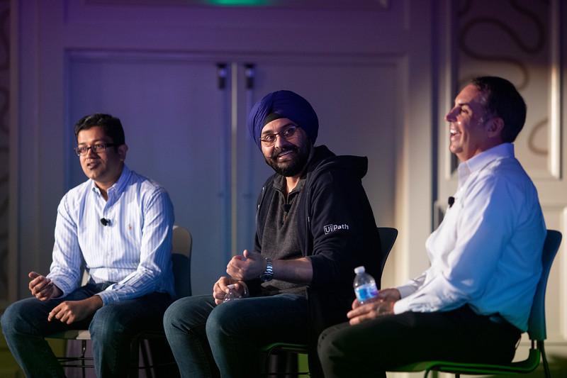 #VBTransform @VentureBeat  PD Singh, Vice President of AI, UiPath & Brian Bond, VP of Consumer & Small Business Repair of CenturyLink Moderator: Saurabh Gupta, Chief Strategy Officer, HfS Research